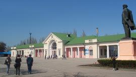 Привокзальная площадь Феодосия, веб камера онлайн