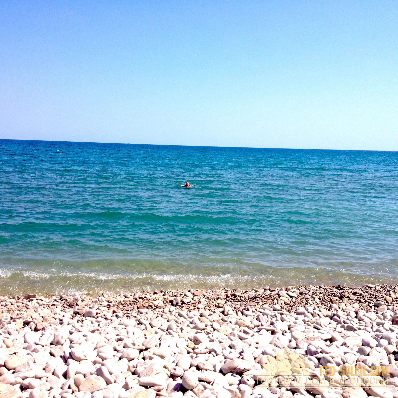 Галечные пляжи Феодосия