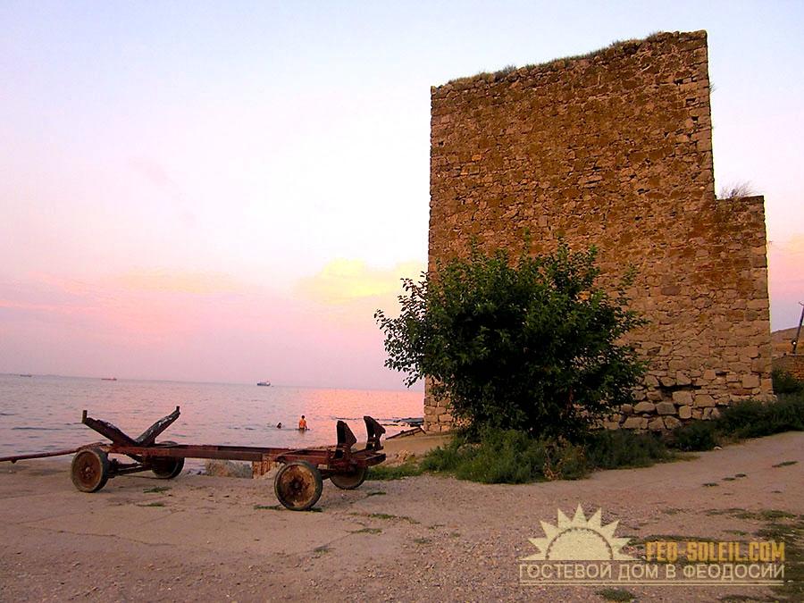 Чумка(Карантин) - пляж Феодосии